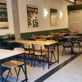 ריהוט בהתאמה אישית למסעדת פלפל בנתניה
